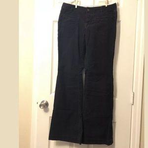 Loft Corduroy Modern Flare Pants